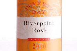 Poverty Bay Riverpoint Old Vines Gisborne Rose 2010 $20. Photo / Babiche Martens