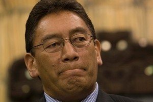 Waitemata Maori Party constituents say they have total confidence in Hone Harawira. Photo / Mark Mitchell