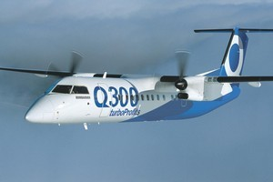 A Bombardier Dash 8 aircraft. Photo / Supplied