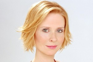 Cynthia Nixon and fiancée Christine Marinoni welcomed a son into the world on Monday. Photo / Supplied