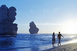 The Great Ocean Walk covers a spectacular stretch of the Australian coastline with beautiful beaches and some remarkable rock formations. Photo / Supplied