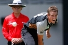 Tim Southee's career is unlikely to suffer as a result of his little mid-air non-scandal. Photo / Brett Phibbs