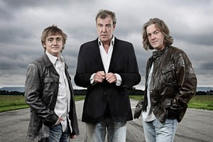Richard Hammond, Jeremy Clarkson and James May. Photo / Supplied