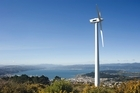 Wind turbine hard at work over Wellington. Photo / Thinkstock