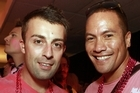 Timothy Smith and Tamati Coffey. Photo / Norrie Montgomery