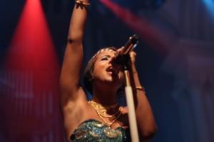 Kelis performs at Splore-City on Friday night. Photo / Hugh Sundae