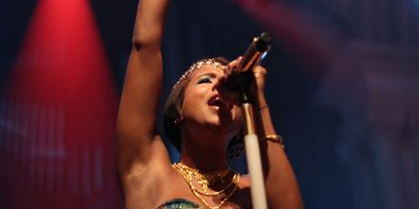 Kelis performs at Splore-City on Friday night. Photo / Hugh Sundae