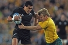 All Blacks fullback Mils Muliaina is set to follow Rudi Wulf to France after the Rugby World Cup. Photo / Getty Images
