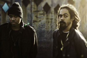 Nas (left) and Damian Marley. Photo / Supplied