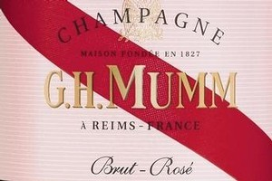 Mumm Brut Rose NV, Champagne, $94.95. Photo / Supplied