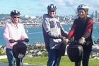 Magic Broomstick Segway Tours is a unique way to see Devonport. Photo / Aotearoa.co.nz