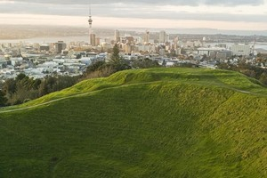 Maungawhau (Mt Eden), a prime Auckland tourist attraction in neglect, as the Auckland Council focuses on creating new tourist destinations for Rugby World Cup visitors. Photo / Supplied