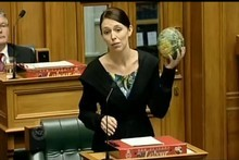 Labour Party MP Jacinda Ardern criticised the Community Max garden scheme. Photo / Supplied