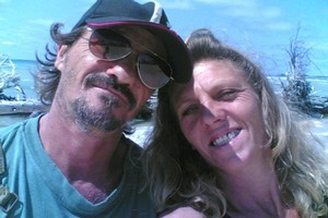 Bruno Pellizarriand Deborah Calitz were sailing from South Africa to New Zealand when they were hijacked and taken hostage by Somali pirates. Photo / Supplied