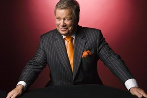 William Shatner. Photo / Supplied