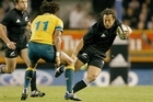 Tana Umaga was in top form when he helped the All Blacks beat the Wallabies in 2005, and he's still backing himself to perform. Photo / NZ Herald
