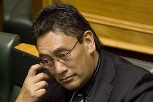Hone Harawira says he has a genuine desire to help Maori. Photo / Mark Mitchell