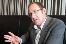 Andrew Little, head of the Engineering, Printing and Manufacturing Union. Photo / Richard Robinson