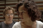 Kevin Zegers (left) and Keisha Castle-Hughes in <i>Vampire</i>. Photo / Supplied