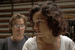 Kevin Zegers (left) and Keisha Castle-Hughes in  Vampire . Photo / Supplied