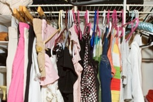 Getting rid of excess items means the clothes that do work are easier to see and co-ordinate together. Photo / Thinkstock