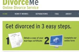 Detail from the DivorceMe website.