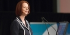 Watch: Gillard's NZ visit