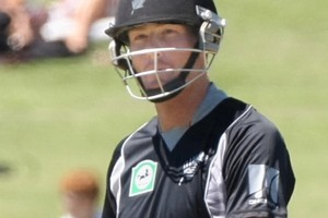 Martin Guptill's batting was a stand-out in the practice match. File photo / Hawkes Bay Today