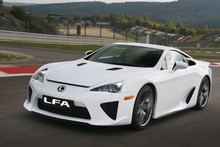 Lexus' LFA supercar. Photo / Supplied 