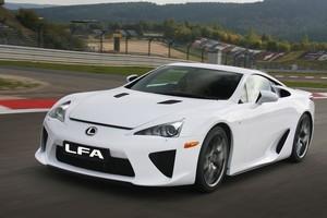 Lexus' LFA supercar. Photo / Supplied