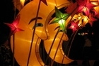 Lanterns on display at the Auckland Lantern Festival in Albert Park. Photo / Eveline Harvey