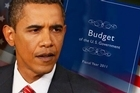US President Barack Obama sent Congress a $3.73 trillion budget that holds out the prospect of eventually bringing deficits under control through spending cuts and tax increases.