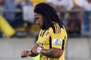In just the opening round of the Super 15 Ma'a Nonu has proven himself too much of a risk. Photo / Getty Images