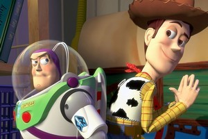 Buzz Lightyear and Woody. Photo / Supplied