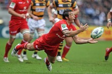Byron Kelleher still serves Toulouse but has been recruiting for Bayonne. Photo / Getty Images