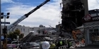 Watch: CTV building in ruins
