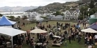 Watch: Christchurch earthquake: Market day strengthens spirits