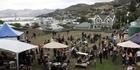 Watch: Christchurch earthquake: Market day strengthens spirits