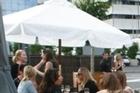 The Stoneleigh garden bar. Photo / Supplied