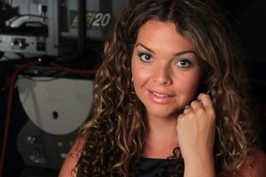 New 20/20 host Sonya Wilson at the TVNZ studios. Photo / Doug Sherring