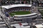 AMI Stadium suffered damage during Tuesday's earthquake. Photo / Sarah Ivey