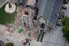 The Christchurch Cathedral was damaged by the 6.3 earthquake. Photo / Sarah Ivey
