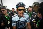 Cyclist Alberto Contador. Photo / AP