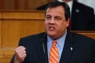 Tony Soprano look-alike Chris Christie spurns all calls to take on Barack Obama. Photo / AP