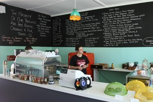 Next Door cafe, Mt Eden. Photo / Greg Bowker