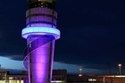 The control tower at the refurbished Christchurch International Airport. Photo / Supplied