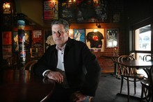 Restaurant Association president Michael Turner (pictured in September) says few CBD hospitality businesses are able to operate. Photo / Greg Bowker