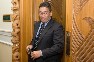 Hone Harawira faces being out on his own from today. Photo / Mark Mitchell