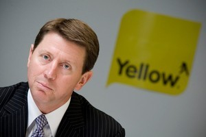 Bruce Cotterill, deoarting chief executive of Yellow Pages Group. Photo / Richard Robinson