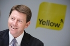 Bruce Cotterill, outgoing chief executive of Yellow Pages Group. Photo / Richard Robinson